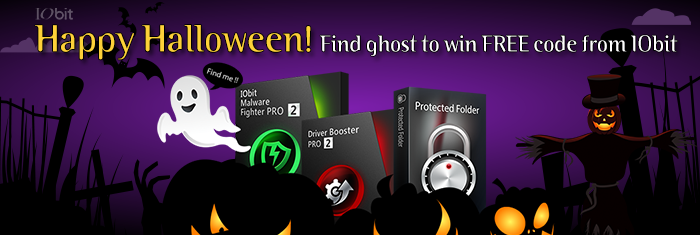 Halloween Giveaway from IObit