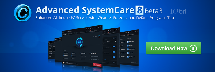 Advanced SystemCare 8 Beta 3